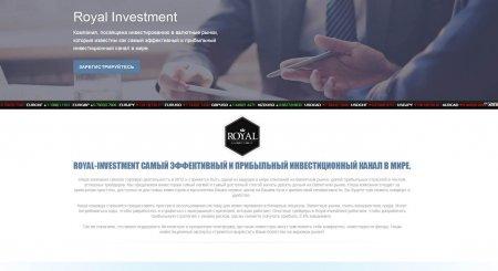 Мультивалютный скрипт хайпа Royal Investment