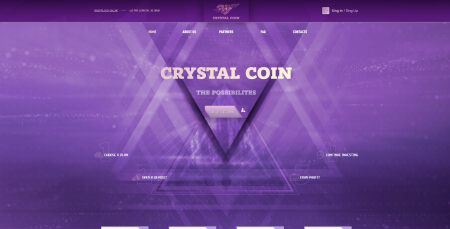 СКРИПТ  CRYSTAL COIN